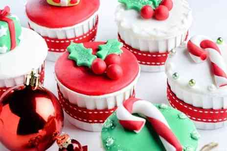 The Gingham Cake Company - Christmas Cupcake Decorating Class - Save 51%