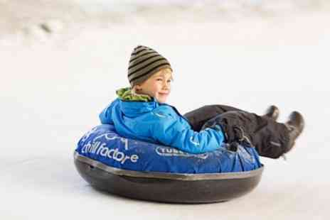 Chill Factore - Tubing or Snow Luge For One Two - Save 50%