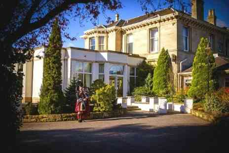 The Grange Manor Hotel - Falkirk 1 or 2 Nights For Two With Breakfast and Dinner - Save 41%