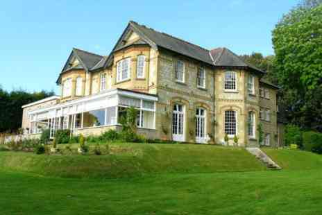 Luccombe Hall Country House Hotel - Isle of Wight 1 or 2 Nights For Two With Breakfast and Leisure Access - Save 63%
