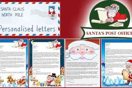 SantasPostOffice.co.uk - Personalised Letters From Santas - Save 50%