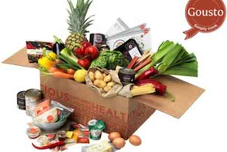 Gousto - Fresh & Organic Ingredients Delivered To Your Door - Save 40%