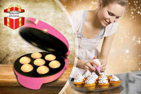 Sherwood Direct - Electronic Mini Cupcake Maker including a recipe guide - Save 42%