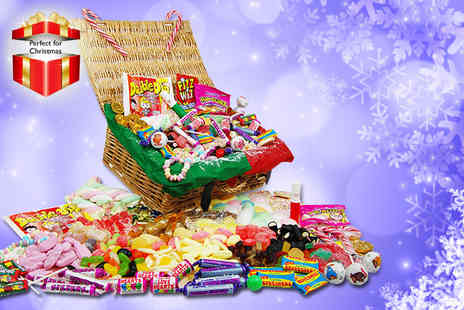 My Sweetie Jar - Deluxe Christmas sweet hamper filled with retro favourites - Save 58%