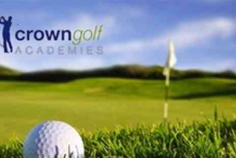 Crown Golf Academy - Ten 60 Minute Golf Lessons With a PGA Professional - Save 70%