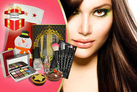 Millennium Nails - Christmas beauty stocking filled with beauty products and accessories - Save 62%