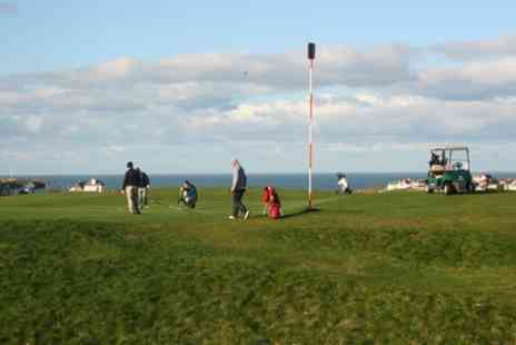 Bude & North Cornwall Golf Club - 18 Holes of Golf Plus Bacon Roll and Coffee For Two - Save 51%
