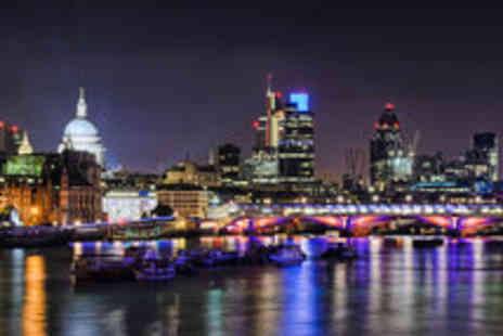 Thames River Tours - Christmas Twilight Thames River Cruise for One - Save 50%