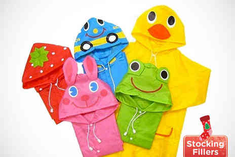 My Avarice - Childrens Cartoon Raincoat in Choice of Design - Save 67%