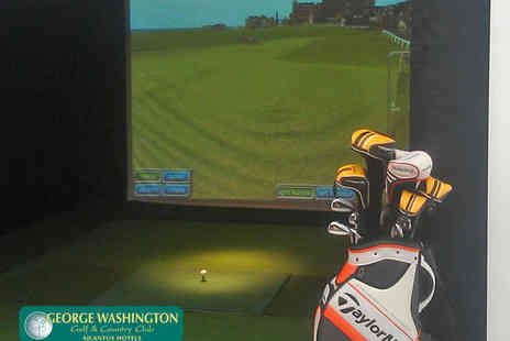 Mercure George Washington Hotel - Golf Simulator and Access to Health and Leisure Facilities for Two People - Save 51%