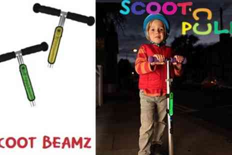 Scoot n Pull - Must Have Scooter Accessory Scoot Beamz - Save 50%