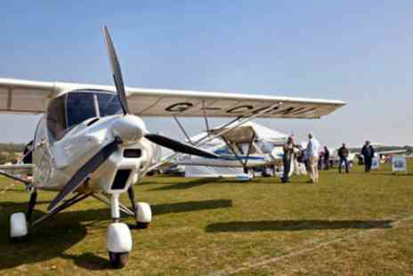 GS Aviation - Microlight Flying Experience - Save 41%