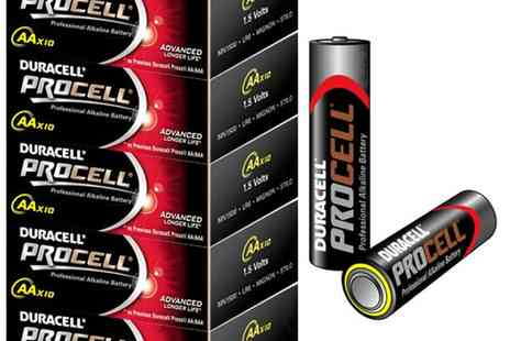 babz - Duracell Procell AA Batteries - Save 53%
