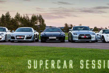 Supercar Sessions - Experience the thrill of a drive - Save 71%