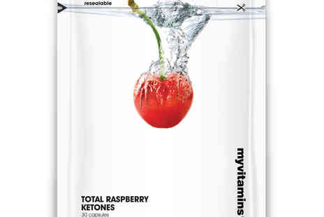 MyProtein - My vitamins Total Raspberry Ketones Capsules - Save 78%