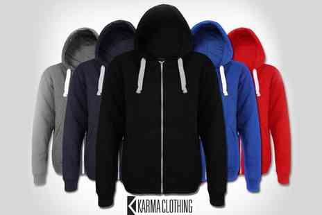 Karma Clothing - Men s and Womens Zip Hoodies - Save 77%