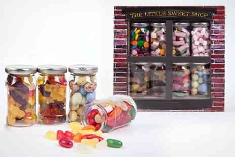 Sensible Supplies - Gift Box With Eight Jars of Traditional Sweets - Save 33%