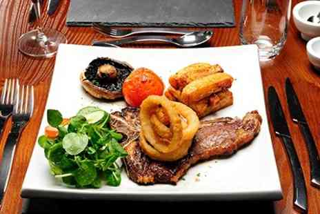The Blue Steak - Three Course Meal for Two - Save 58%