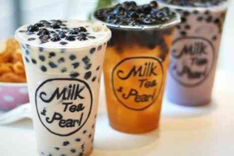 Milk Tea & Pearl - Bubble Tea Takeaway Cups - Save 43%