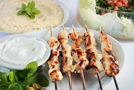 Afendi restaurant and cafe - Two Course Lebanese Meal With Mezze Starte - Save 52%