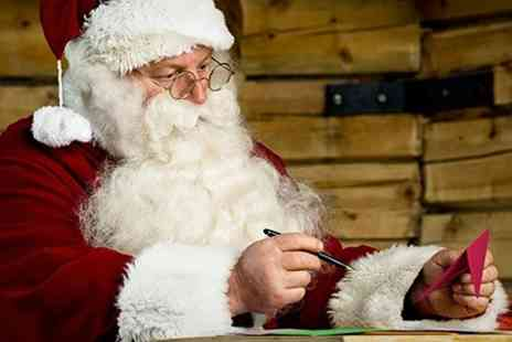 Shepreth Wildlife Park - Visit Santa One Adult and One Child - Save 50%