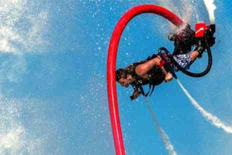 158 Performance - One-Hour Flyboard Experience - Save 53%