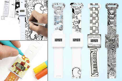 My Avarice - Paper Watch Decorate it Yourself - Save 62%