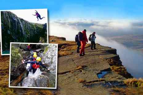 Mynydd Adventures - Three hours of either gorge walking or coasteering - Save 60%