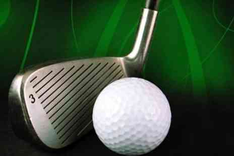 Affordable Golf - Individual Indoor PGA Lessons - Save 70%