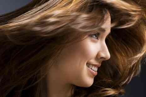 Valentinos Hair - T Section Highlights or Colour With Restyle Condition and Blow Dry - Save 73%