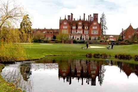 De Vere - Round of Golf Plus Hot Drink For Two - Save 68%