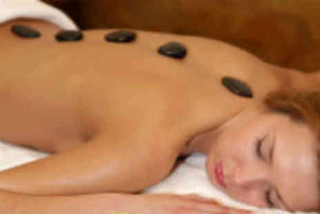 Roma Hair and Beauty - Hot stone massage and facial - Save 80%