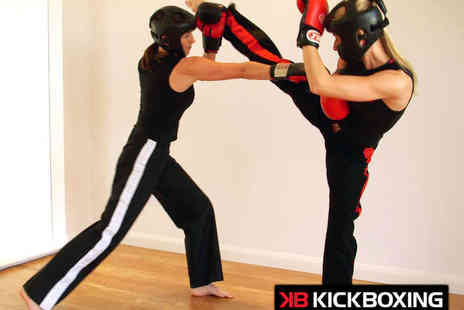 KB Kickboxing - Five Kickboxing Classes for One - Save 62%