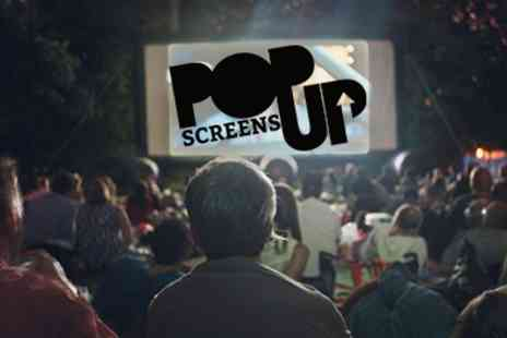 Pop Up Screens - Tickets To Classic Festive Movies - Save 46%