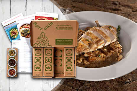 SimplyCook - Simply Cook recipe box and one month subscription - Save 60%