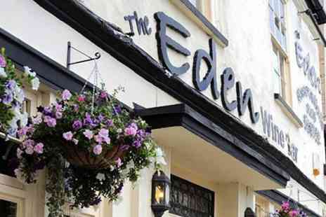 Eden Wine Bar and Restaurant - Three Course Dinner - Save 58%