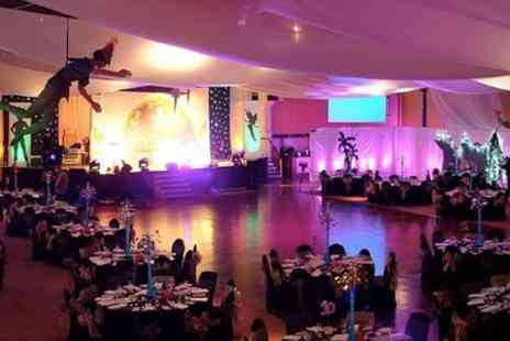 Rainton Meadows Arena - Party Night With Entertainment and Meal For Two - Save 71%