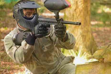 Warminster Activity centre - Paintball With Two Pizzas For Ten People - Save 94%