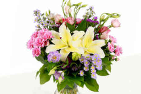 Serenata Flowers - Voucher for a Choice of Three Flower Bouquets Including Delivery - Save 52%