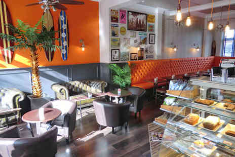 Love Fit Cafe - Lunch for One with Any Drink including wine, juice or smoothie - Save 61%