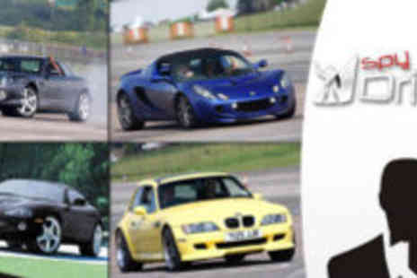 Spy Drive - Supercar experience - Save 74%