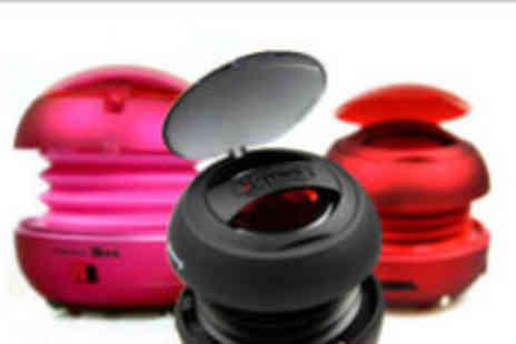 Advanced Mp3 Players - X Mini V1.1 Capsule Speaker in black, red or pink - Save 52%