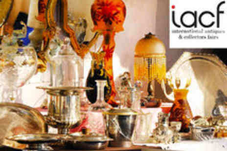 IACF - Entry to the Newark International Antiques & Collectors Fair - Save 60%