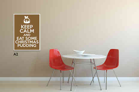 Boossh - A4 Keep Calm poster - Save 42%
