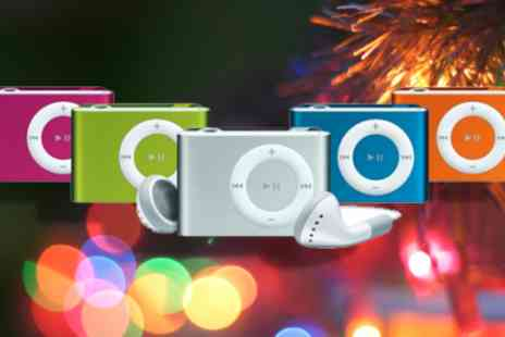 UKCJS - 2GB shuffle MP3 player in a choice of colours - Save 79%