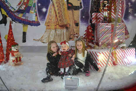 Silverburn Snowglobe - Group snowglobe photoshoot for up to 5 people including a 6 x 4 print - Save 50%