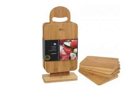 Easy Gift Products - Six Piece Chopping Board Set - Save 47%
