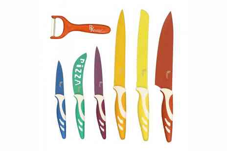 Easy Gift Products - 6 Piece Royal Koch Colourful  Knife Set - Save 49%