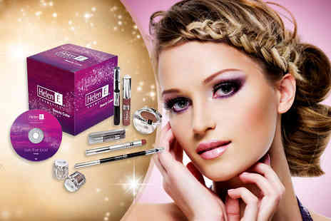 Helen E - Naturally Gorgeous or Smokey Eyes beauty set - Save 45%