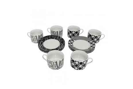 Easy Gift Products - Cup and Saucer Coffee Set - Save 50%